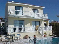 air conditioning, pool, landscaped gardens, two bathrooms - paphos- cyprus.